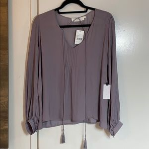 ASTR Womens Lilac blouse size large